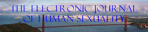 Electronic Journal of Human Sexuality Banner